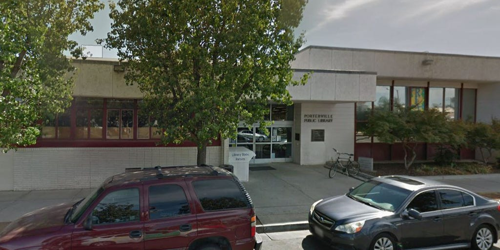 Image result for porterville, ca library