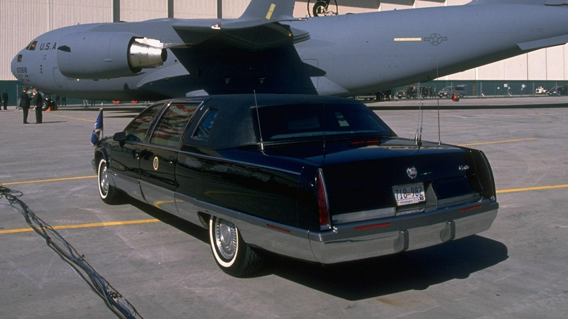 U.S. presidential limousines