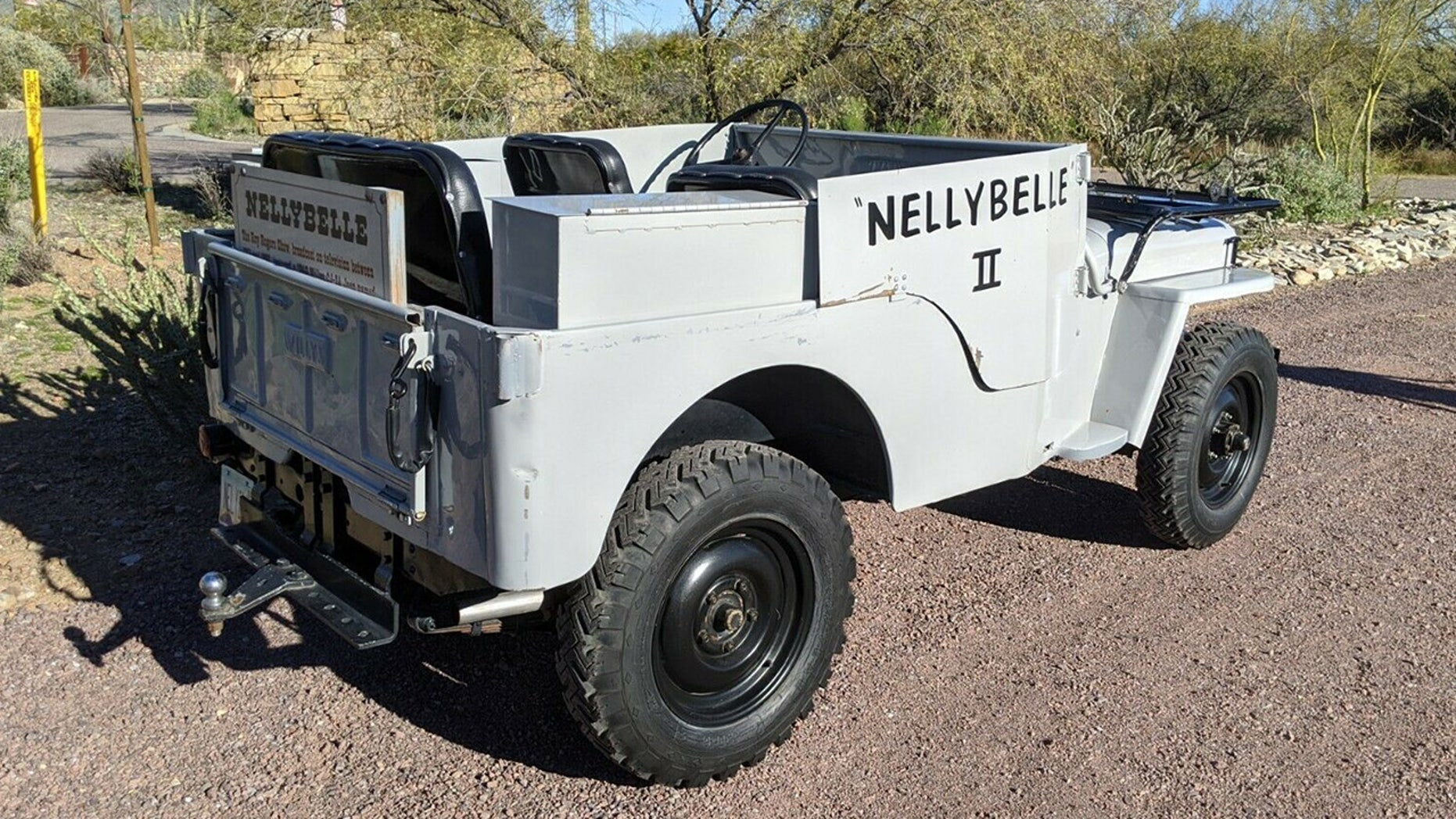 Roy Rogers classic Jeep CJ Nellybelle II