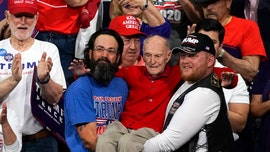 Arizona veteran Ervin Julian -- carried to seat at Trump rally -- dead at 100: report