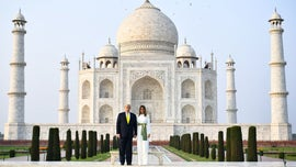 'Namaste Trump': President Trump, first lady receive warm welcome in India tour
