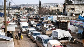 Russia-backed Syria offensive sees hundreds of thousands jammed at Turkey border, children dying, UN says