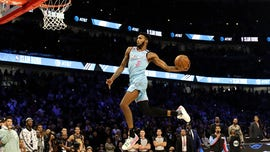Derrick Jones Jr. wins NBA slam-dunk contest -- but Aaron Gordon feels robbed