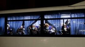 Americans quarantined on Diamond Princess cruise ship over coronavirus flown to US; more than 40 left behind