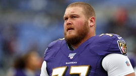Baltimore Ravens' Bradley Bozeman crushes food challenge at Texas restaurant