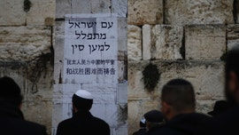 Hundreds pray at Western Wall for cure to coronavirus: 'God has the power to send healing'