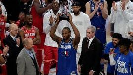 Kawhi Leonard wins first Kobe Bryant All-Star MVP award