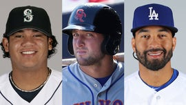 Spring training features several veterans in new places hoping to be in the majors on Opening Day