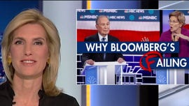 Laura Ingraham: Bloomberg 'trapped' in a Democratic Party that's too far left for him