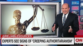 CNN's Brian Stelter lecture on authoritarianism panned as 'left-wing conspiracy nonsense'