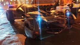 'Batmobile' impounded by Moscow police