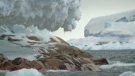 Hidden island uncovered in Antarctica after melting glaciers reveal its shore