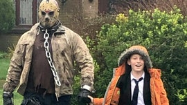 Boy's birthday wish comes true when Jason from 'Friday the 13th' gets him from school