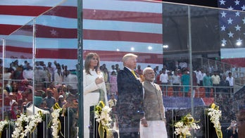 Trump rallies massive crowd in India, inks military deal with Modi