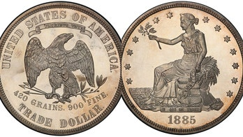 Extremely rare 1885 $1 coin could be worth $2M at auction