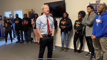 In South Carolina, pumped-up Steyer says he's ready to 'run through the tape'