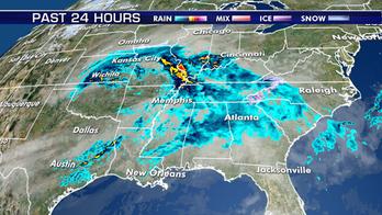 Rain to spread across South up to East Coast