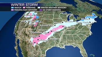 Snow, freezing rain, severe weather from Plains to East Coast