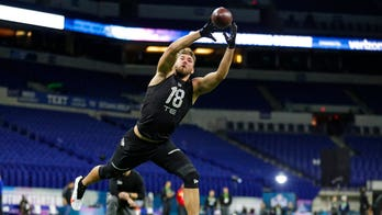 NFL draft prospect smacked in the face during Scouting Combine 'gauntlet drill'