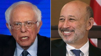 Bernie Sanders denounces ex-Goldman Sachs CEO for saying he would prefer Trump in 2020