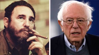 Sanders defends Fidel Castro's socialist Cuba in new interview; Trump addresses massive rally in India