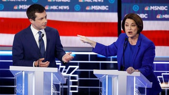 Klobuchar hits back at 'perfect' Pete Buttigieg as feud flares at Vegas debate