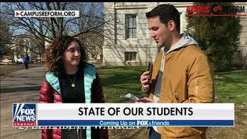 Liberal students reflexively reject Trump quotes, even though they're from Democrats