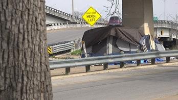 Governor, mayor battle over Austin homelessness as progressive city's crisis deepens