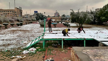 Iraq sees snow in Baghdad for first time in over a decade