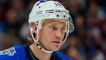 Bouwmeester back in St. Louis, 'on the road to recovery'