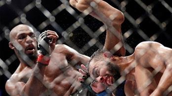 Jon Jones' UFC victory over Dominick Reyes is disputed