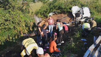 Truck carrying migrants in Mexico overturns; 1 reported dead, 81 hurt