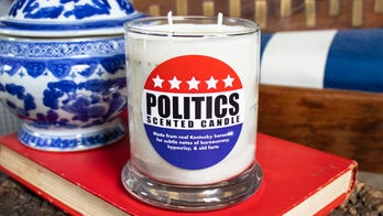 Company releases 'Politics Scented Candle' made from genuine horse poop: 'Subtle notes of bureaucracy'