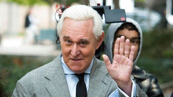 Roger Stone gets testy with Axios reporter asking about his criminal case
