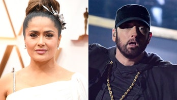 Salma Hayek says she spilled water on Eminem at the Oscars: 'I made such a fool of myself'