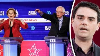 Ben Shapiro jokes Elizabeth Warren was 鈥榦penly campaigning鈥� to join Sanders ticket during Dem debate