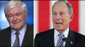 Gingrich says Mike Bloomberg could spend up to $6 billion 'carpet-bombing' states with ads