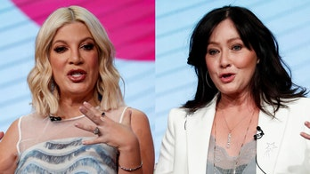 Shannen Doherty gets support from Tori Spelling after cancer diagnosis