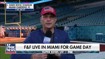 'First' on the field: Pete Hegseth joins 'Fox & Friends' from Hard Rock Stadium in Miami