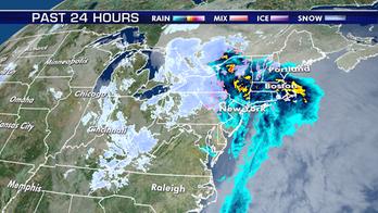 Heavy snow ramping up across Northeast