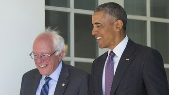 Sanders claims he backed Obama in 'both of his campaigns,' despite report of mulling primary bid