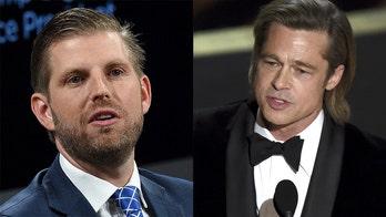 Eric Trump slams Brad Pitt as 'smug elitist' over Oscars speech