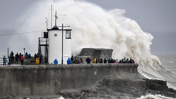 Bomb cyclone storm rips across UK, spawns most flood warnings, alerts in England 'than any other day on record'