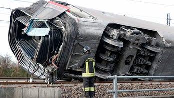 High-speed train derailment in Italy leaves 2 railway workers dead, dozens injured