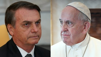 Brazil鈥檚 president blasts Pope Francis on Amazon climate change: He 鈥榤ay be Argentinean but God is Brazilian鈥�