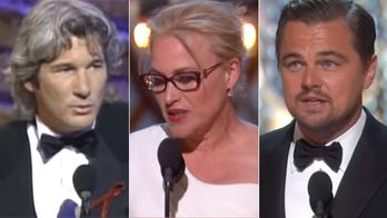 Famous Oscars political moments, from Marlon Brando to protesting Trump