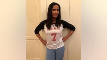 Top Chef host Padma Lakshmi posts photo wearing Kaepernick shirt hours before Super Bowl