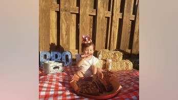 Parents celebrate daughter's 1st birthday with 'Rib Smash' instead of cake: 'As Texas as possible'