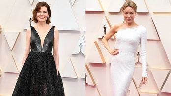 See the stars' Oscars outfits