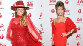Susan Lucci, Shania Twain and more stars 'go red' to shine a light on heart disease